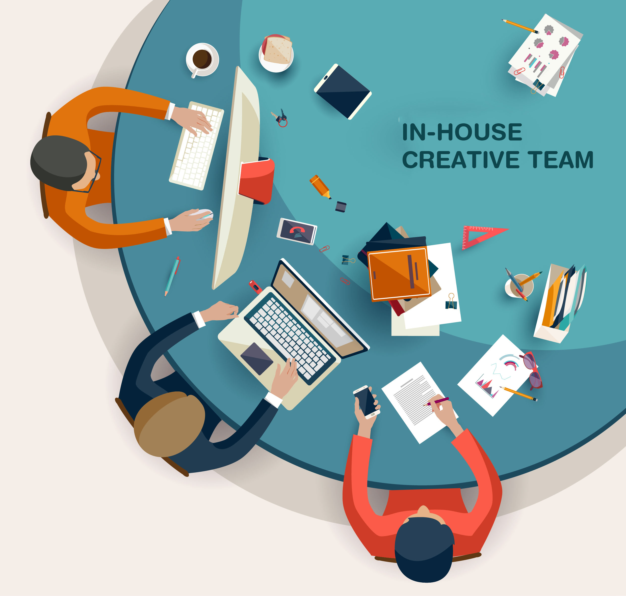 In-house creative agency